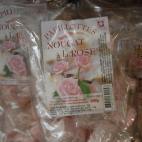 Nougat à la rose papillotes 200g