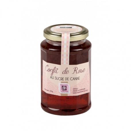 CONFIT DE ROSE au sucre de canne