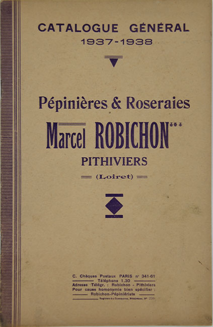 Catalogue marcel Robichon